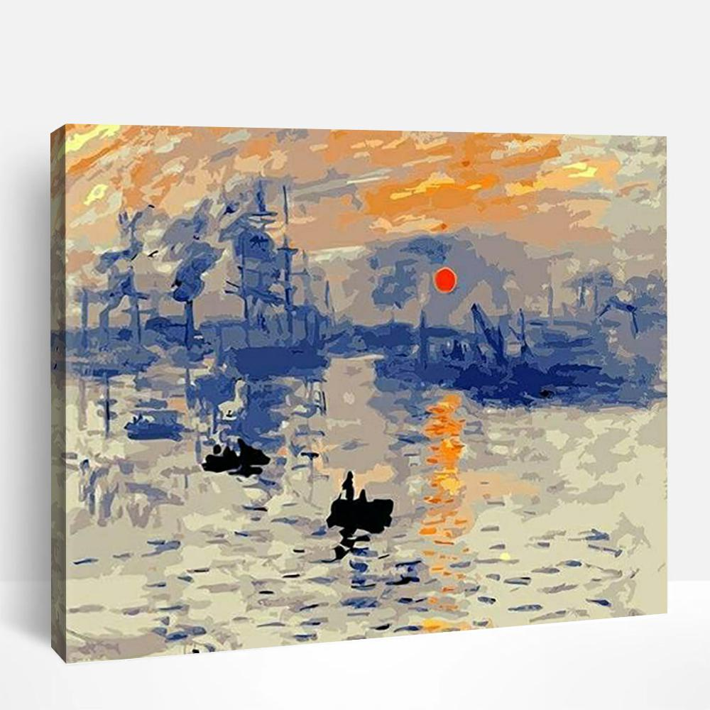 Impression Sunrise | Paint By Numbers