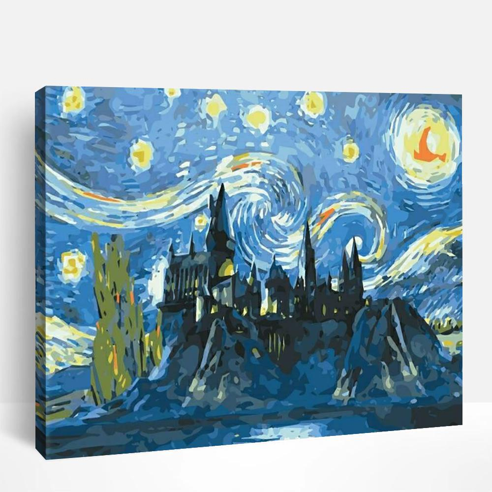 Starry Starry Night | Paint By Numbers