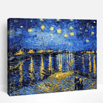 Starry Night Over The Rhône Van Gogh's | Paint By Numbers