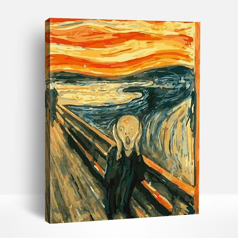 The Scream | Paint By Numbers