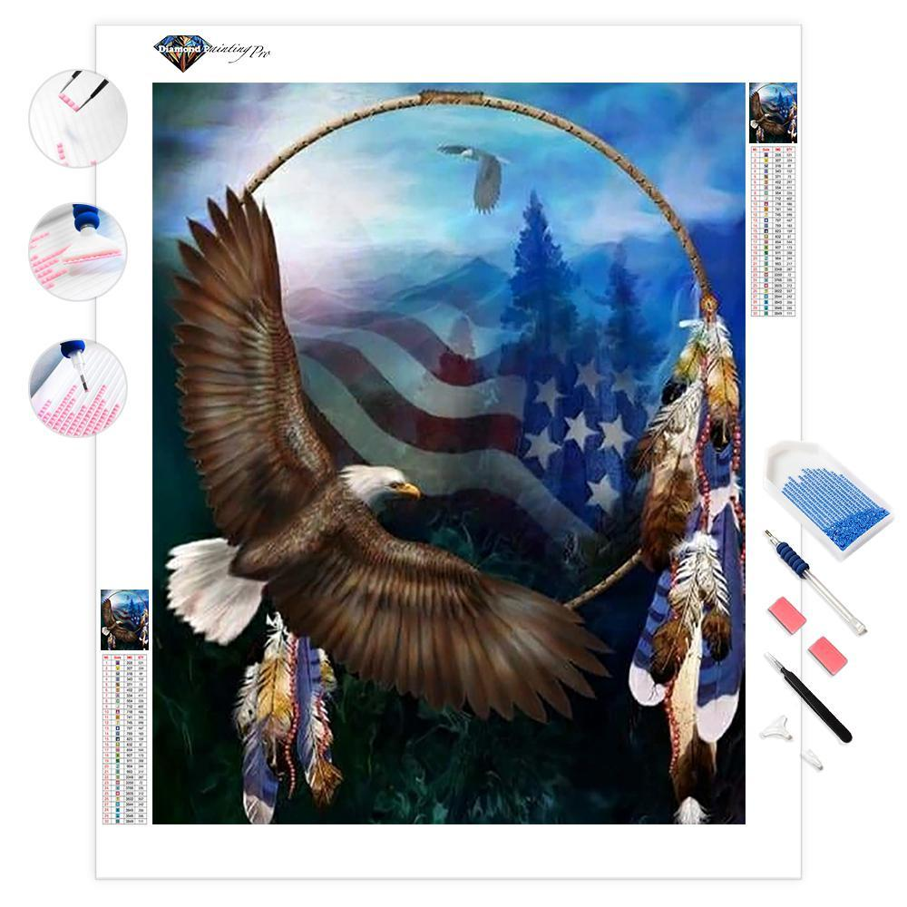 Freedom's Flight | Diamond Painting