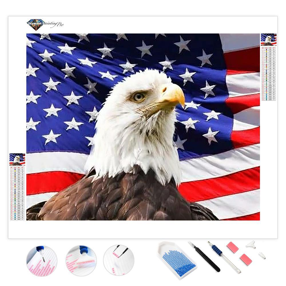 American Eagle | Diamond Painting
