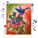 Star Spangled Hummer | Diamond Painting