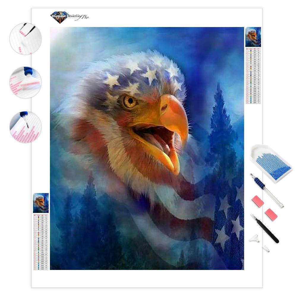 Eagle's Cry | Diamond Painting