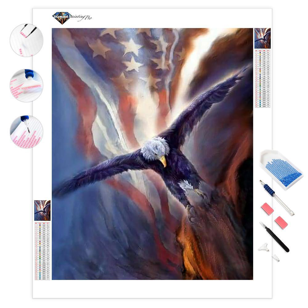 Freedom Eagle | Diamond Painting