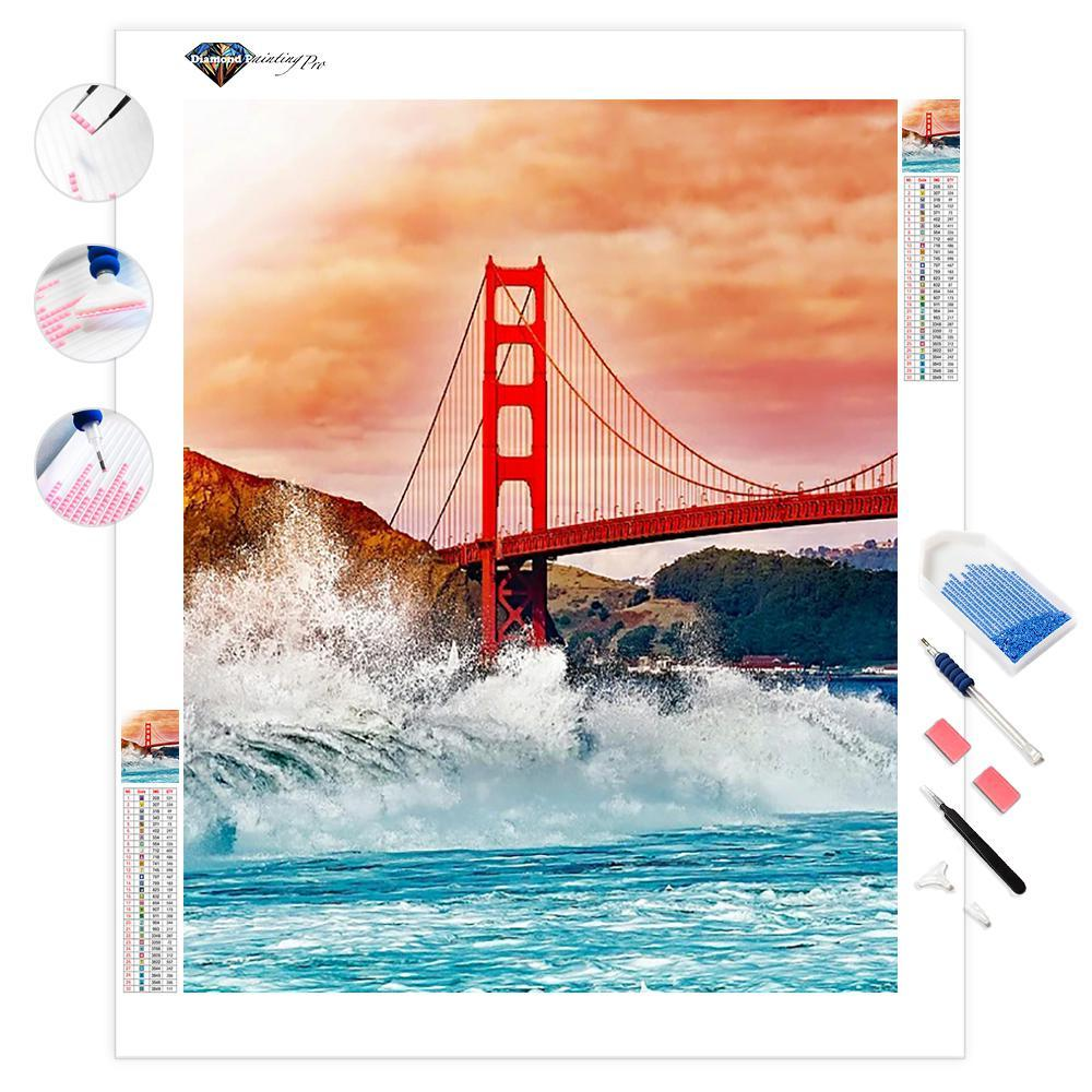 Golden Gate Bridge | Diamond Painting