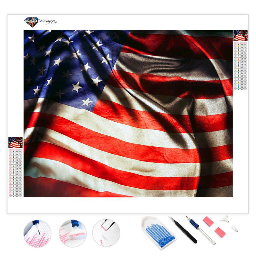 American Flag | Diamond Painting