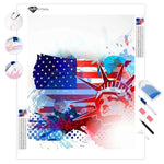 American Independence Day | Diamond Painting