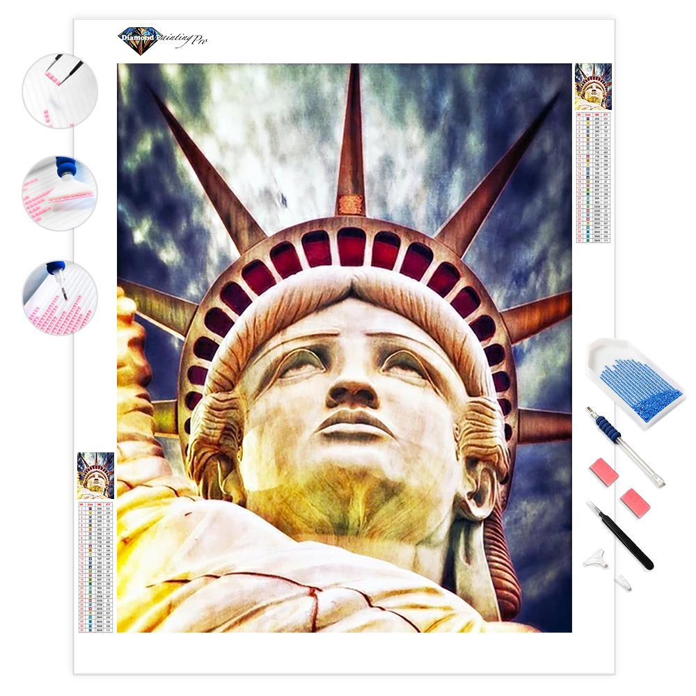 Lady Liberty | Diamond Painting