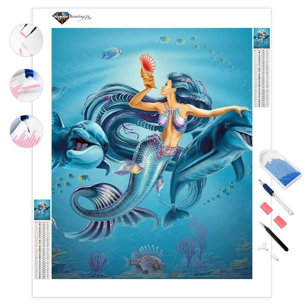 Down Where It's Wetter | Diamond Painting