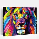 Colorful Lions Animals | Paint By Numbers