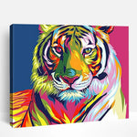 Colorful Tiger | Paint By Numbers