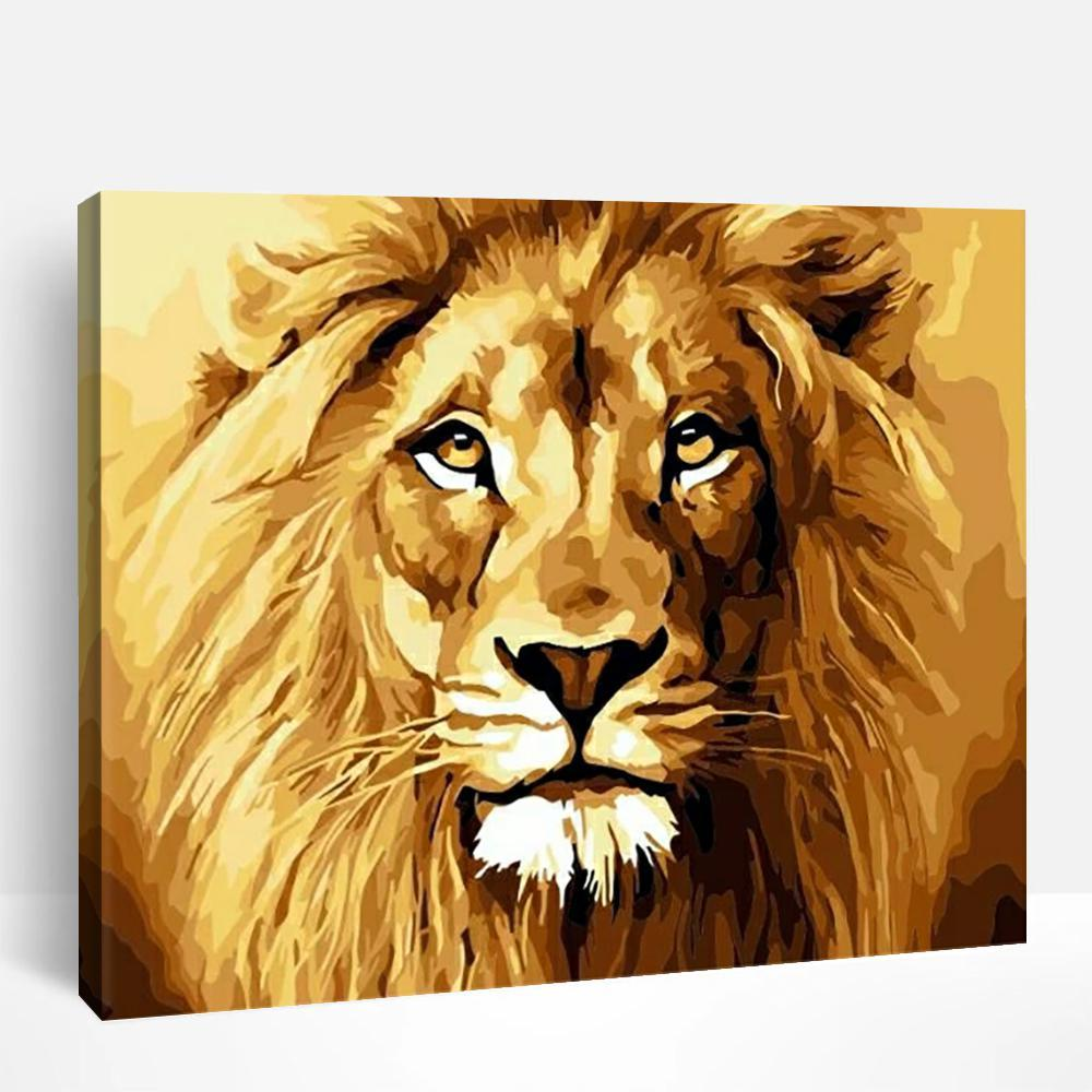 Lion | Paint By Numbers