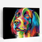 Abstract Dog | Paint By Numbers
