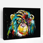 Abstract Monkey | Paint By Numbers