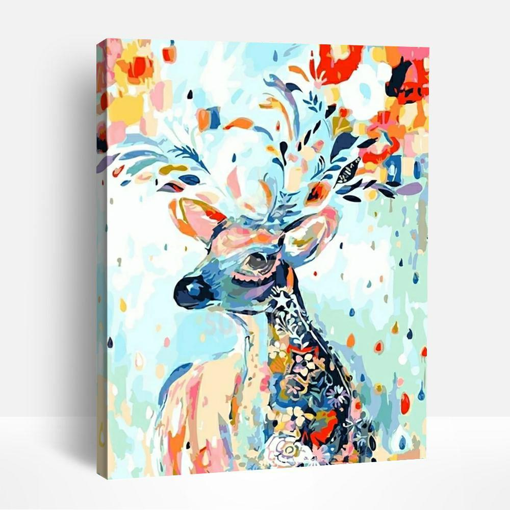 Enchanting Deer | Paint By Numbers