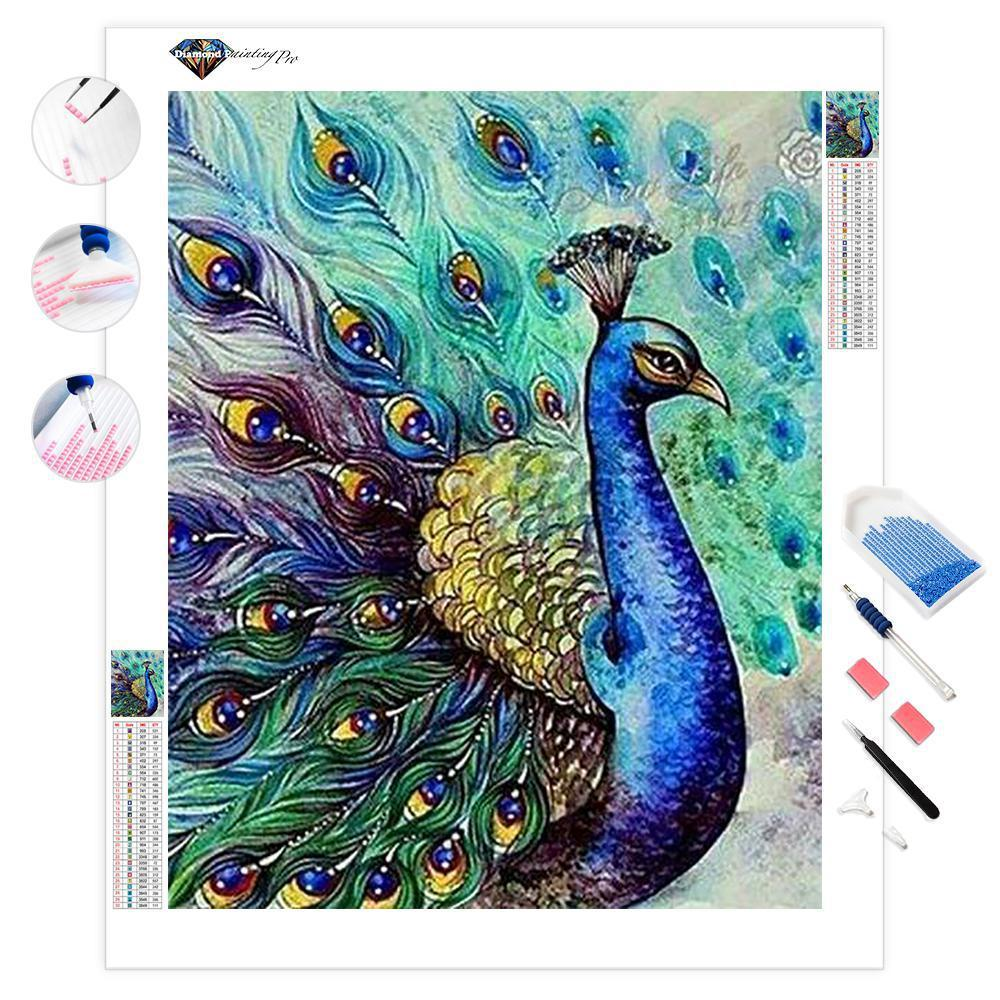 Peacock Showcase | Diamond Painting