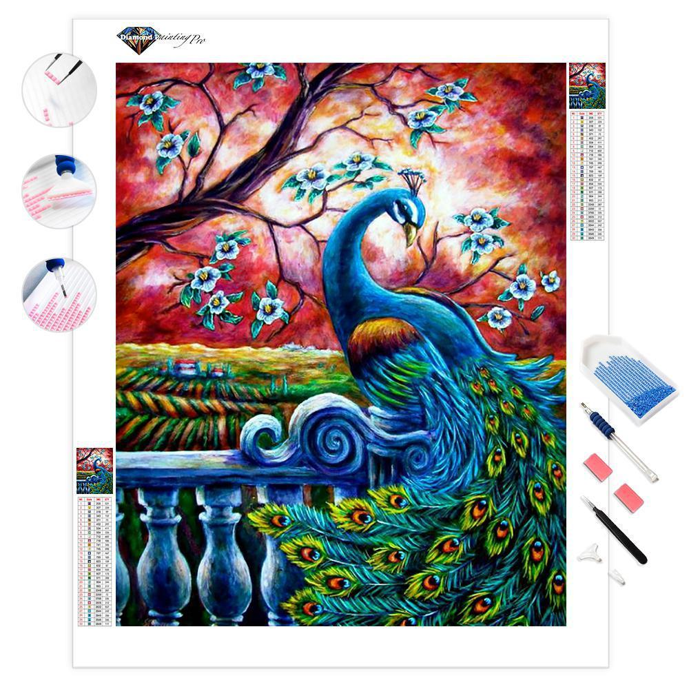 Proud Peacock | Diamond Painting