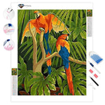 Macaw Parrots | Diamond Painting