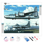 World War Ii Airplane | Diamond Painting