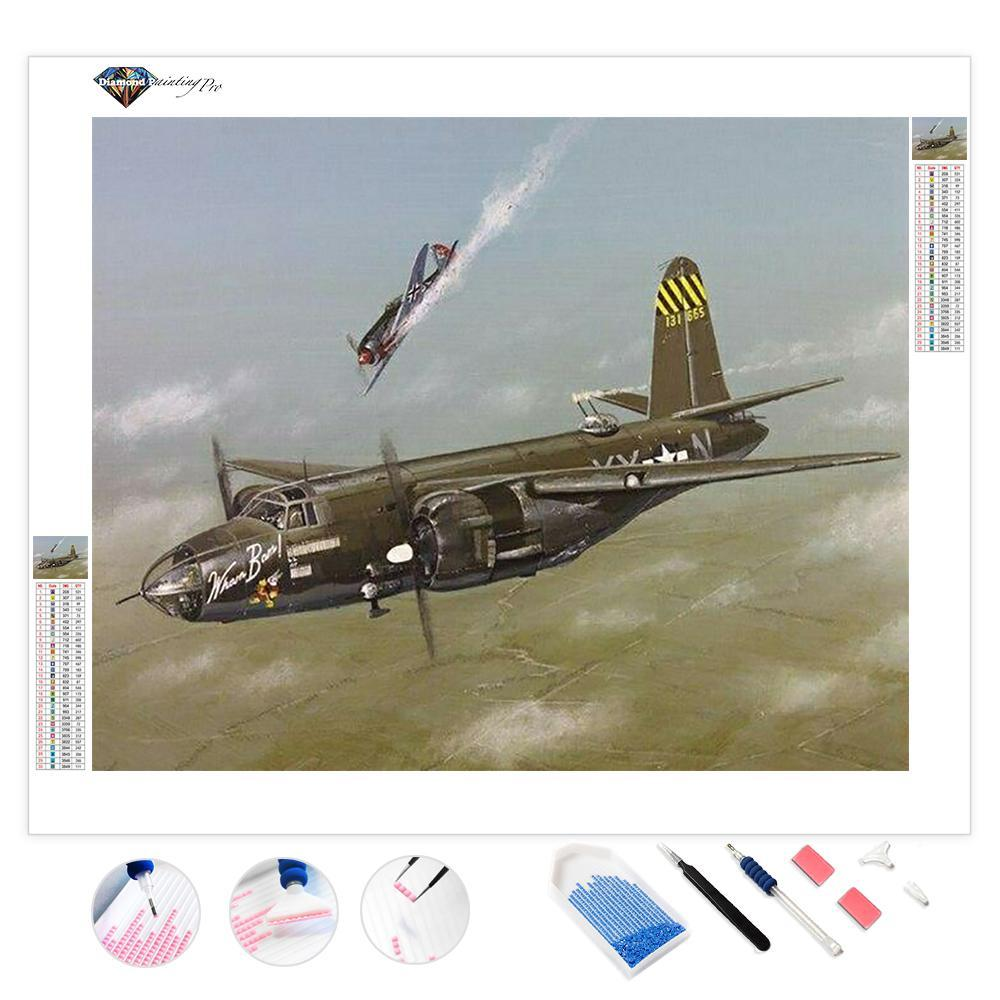 American Aircraft | Diamond Painting