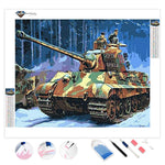 German Tank | Diamond Painting