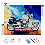 Harley Motorcycle | Diamond Painting