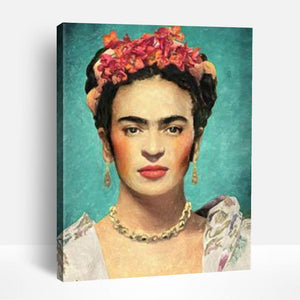 Frida Kahlo Self Portrait | Paint By Numbers