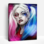 Harley Quinn Art | Paint By Numbers