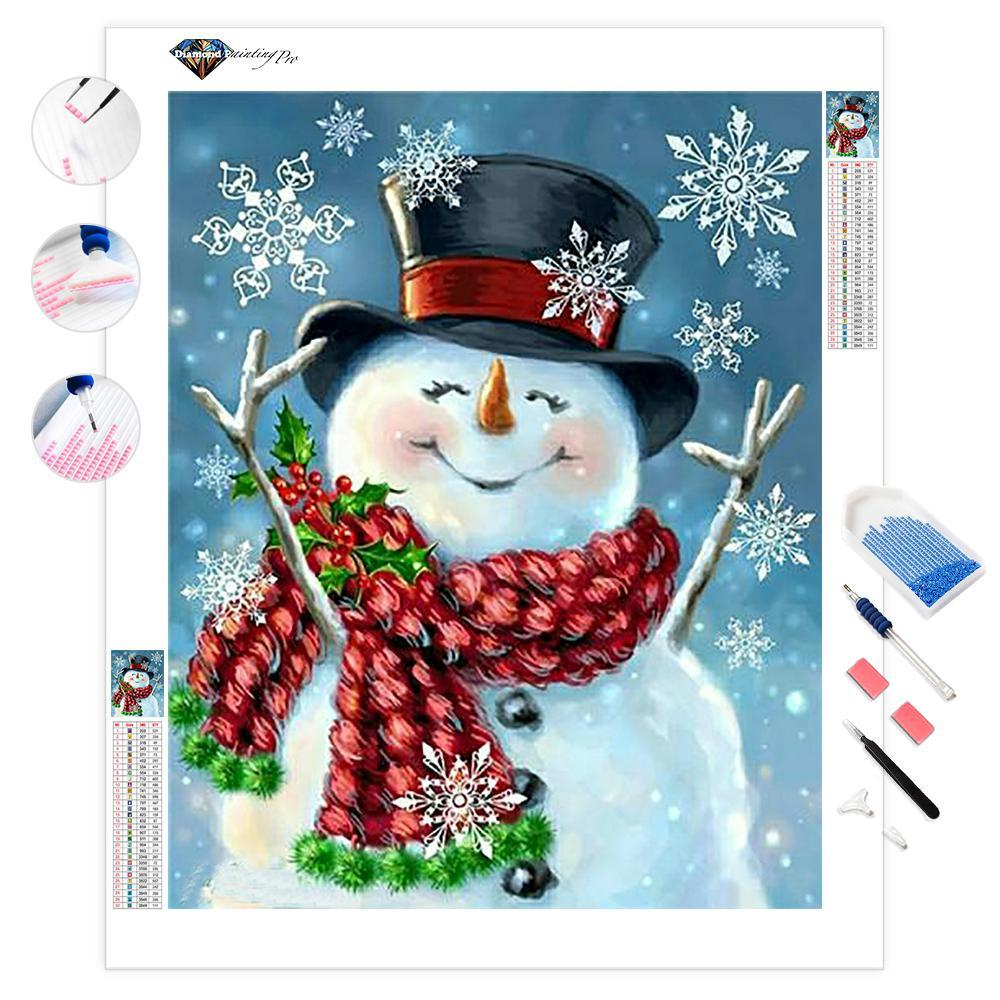 Snowman Christmas | Diamond Painting