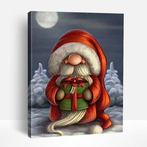 Cartoon Santa Claus | Paint By Numbers