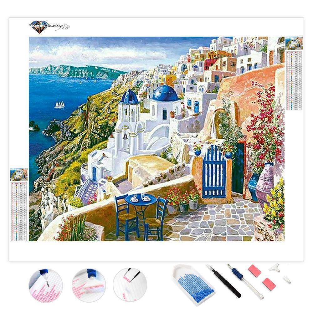 View from Santorin | Diamond Painting