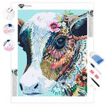 Colorful Cow | Diamond Painting