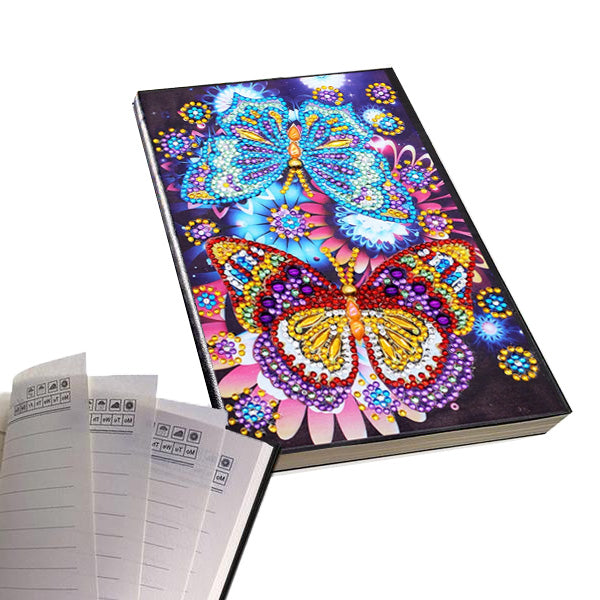 Diamond Painting Journal — Butterfly Romance