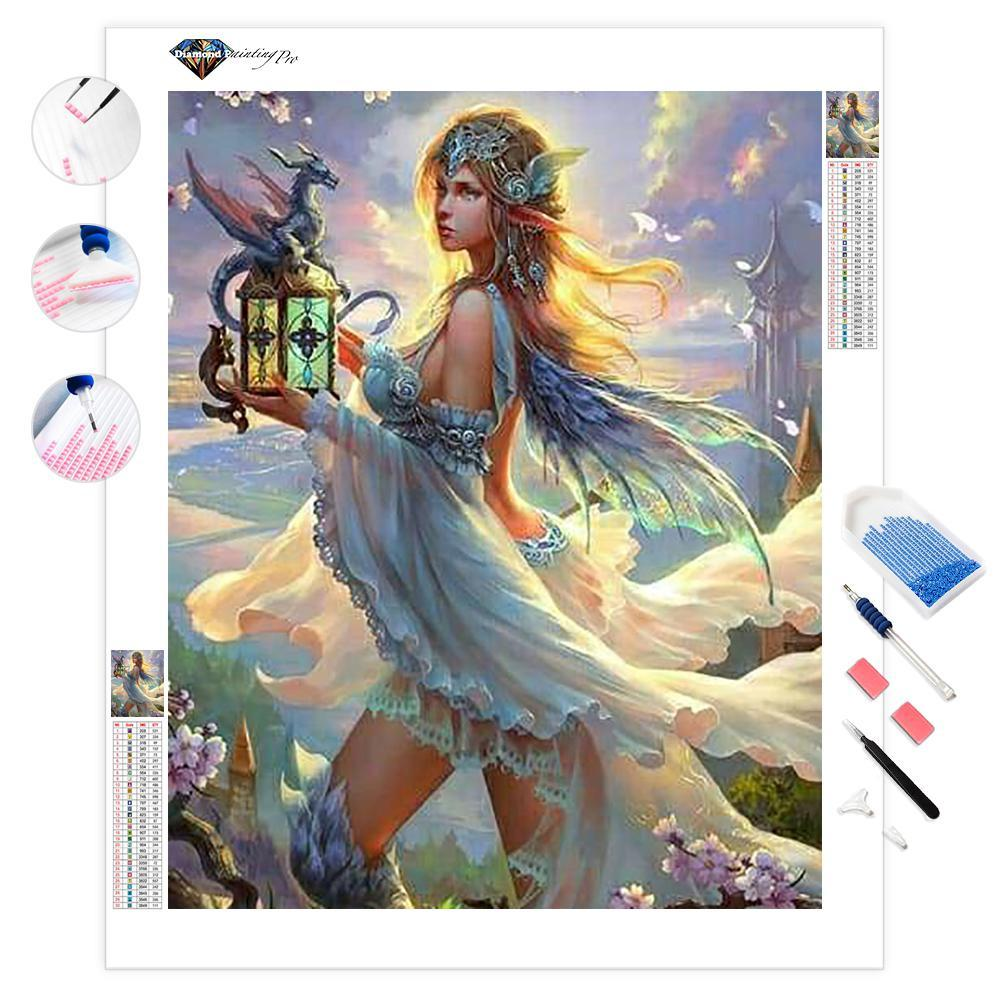 Fairies and Beasts | Diamond Painting