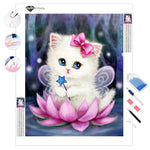 Lotus Fairy | Diamond Painting