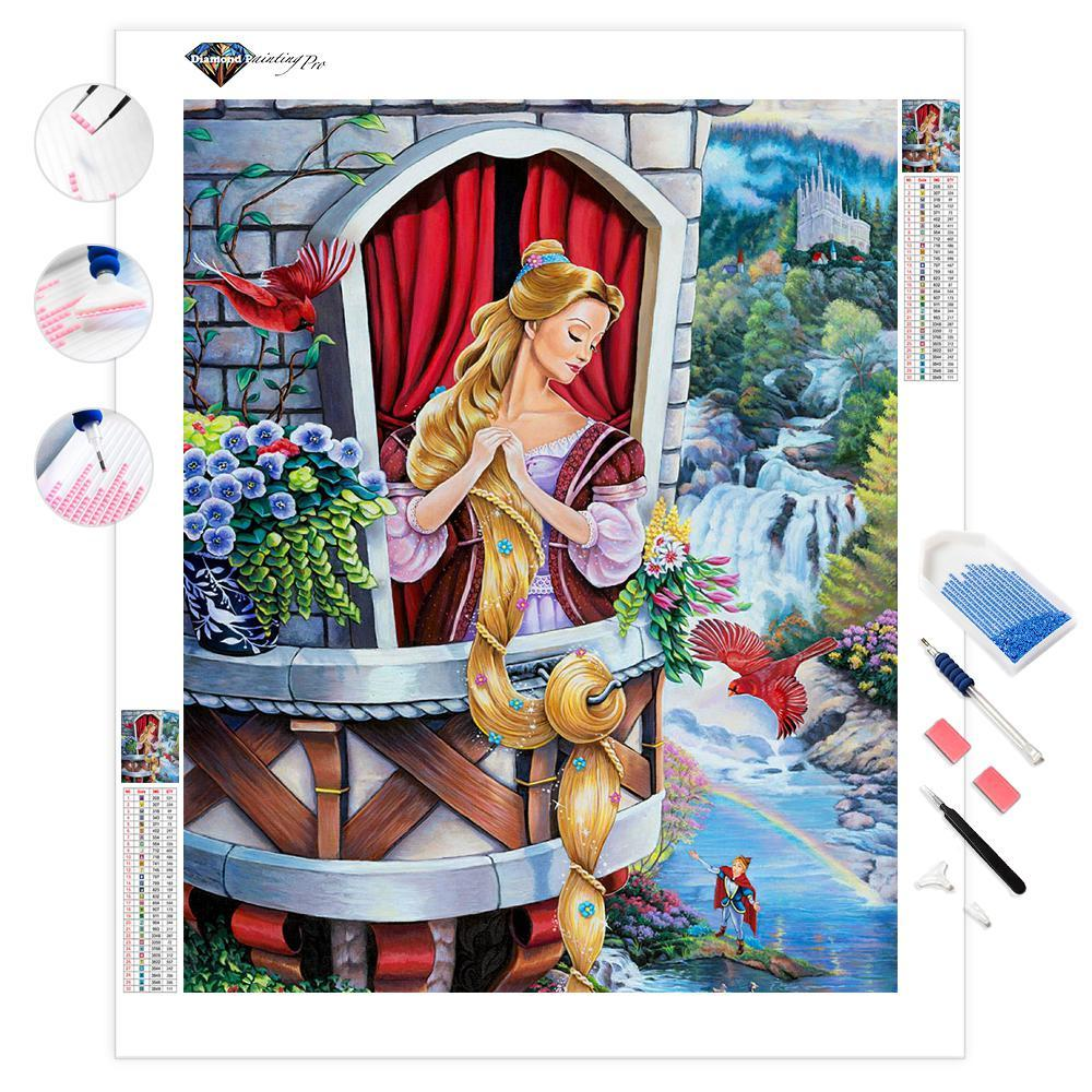 Rapunzel | Diamond Painting