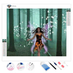 Fairy in the Forest | Diamond Painting