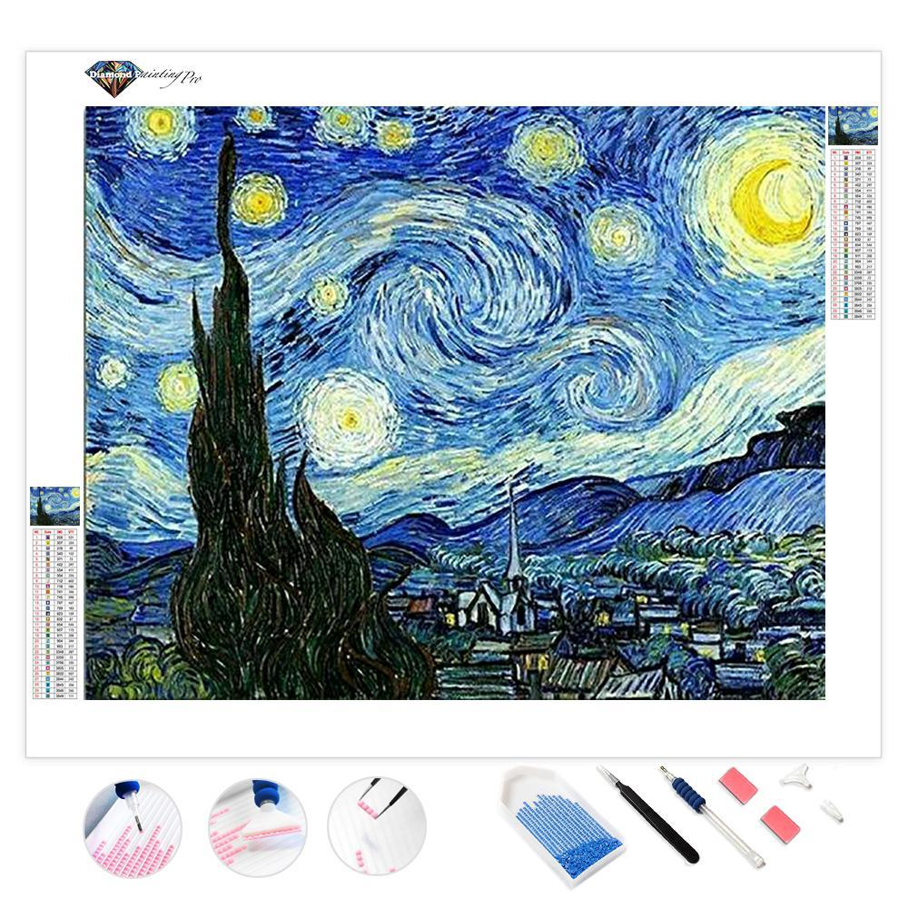 Starry Night | Diamond Painting