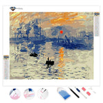 Impression Sunrise Claude Monet | Diamond Painting