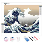 The Great Wave off Kanagawa | Diamond Painting