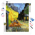 Café Terrace at Night Vincent Van Gogh | Diamond Painting