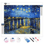 Starry Night over the Rhône Van Gogh's | Diamond Painting