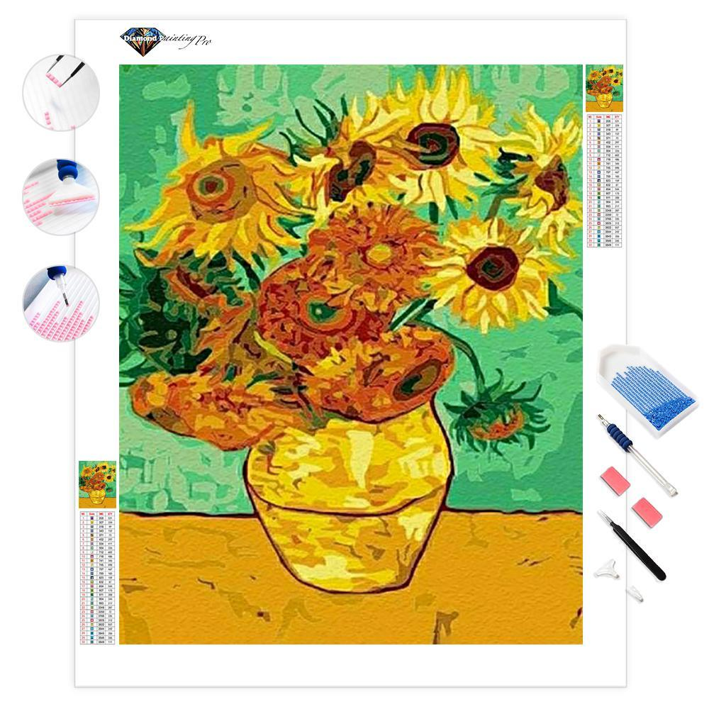 Sunflowers | Diamond Painting