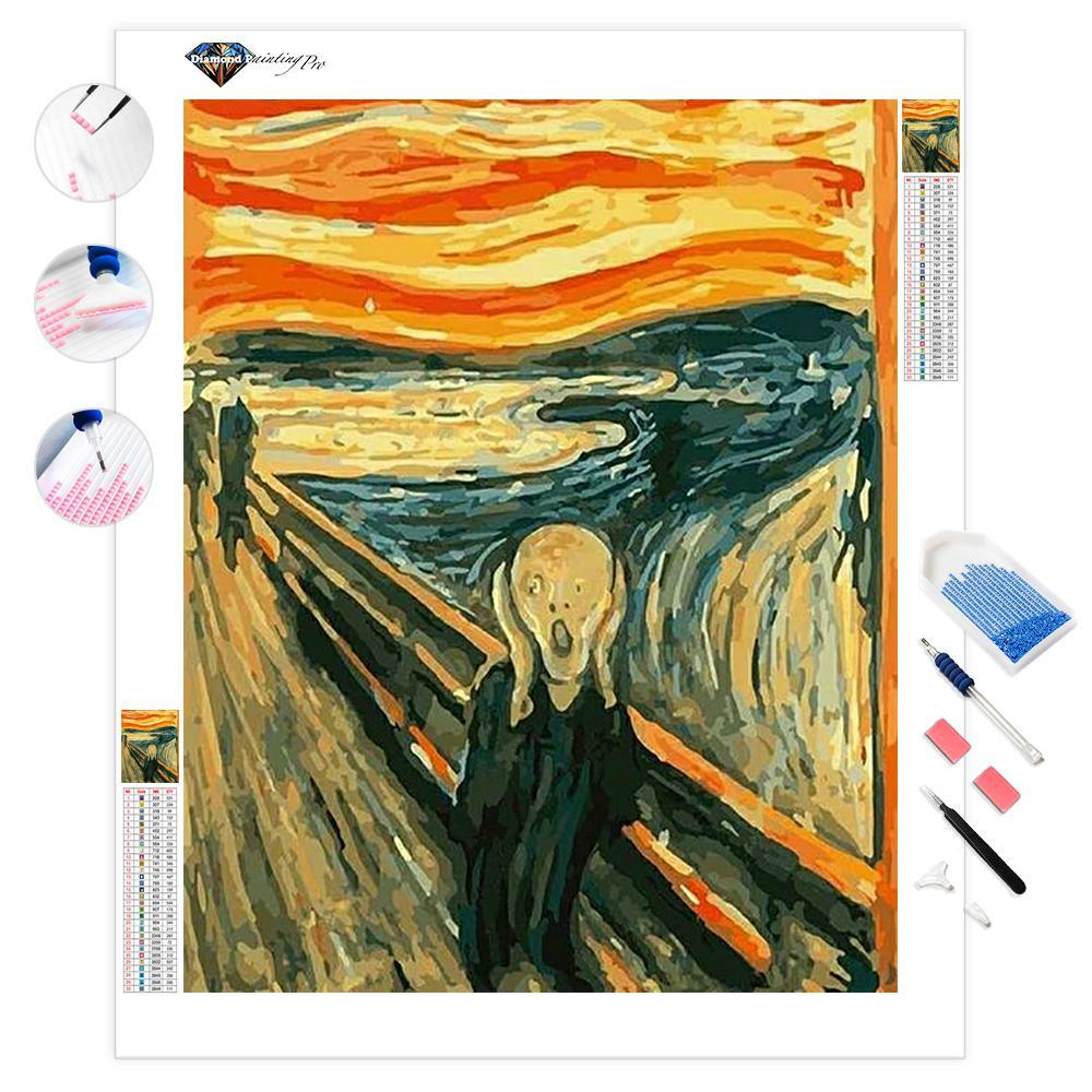 The Scream | Edvard Munch | Diamond Painting