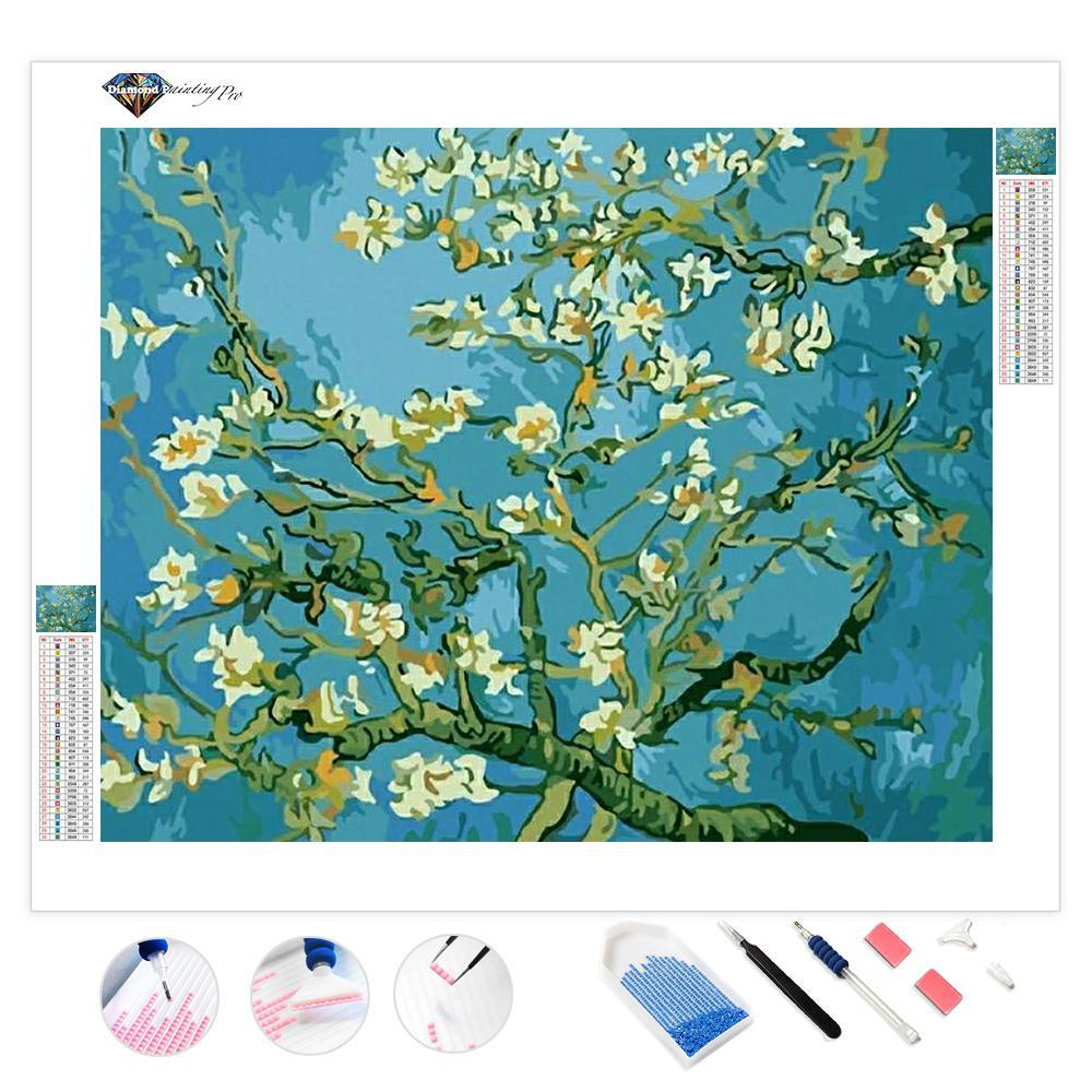 Almond Blossoms | Diamond Painting