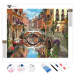 Venice Gondola | Diamond Painting