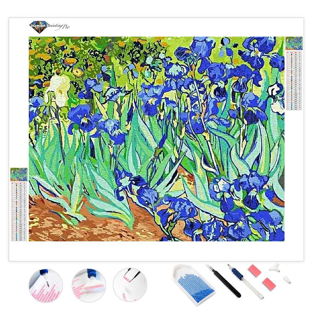 Vincent Van Gogh Irises | Diamond Painting