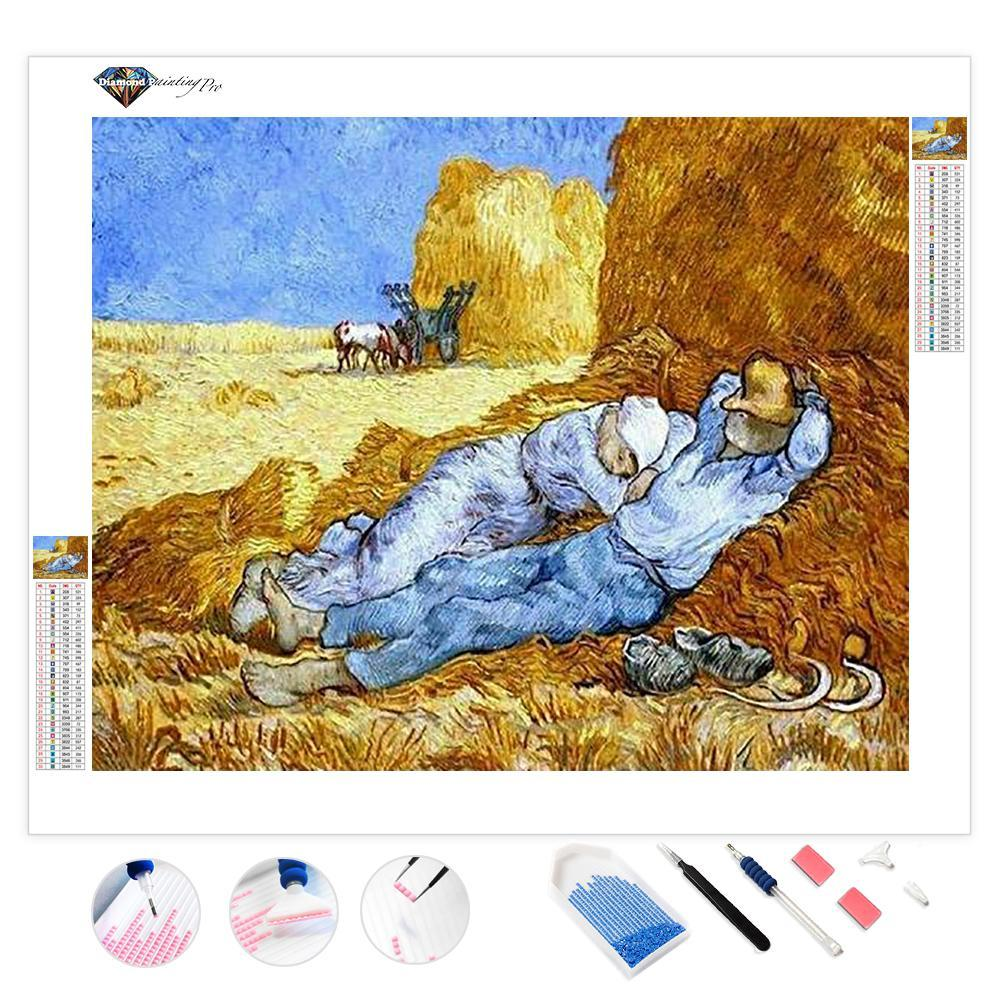 The Siesta (after Millet) | Van Gogh | Diamond Painting