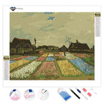 Flower Beds in Holland | Van Gogh | Diamond Painting
